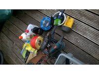 Box of DIY stuff, tools etc