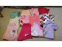 Girls pyjamas nightwear children's bundle job lot sets aged from 5-11 years