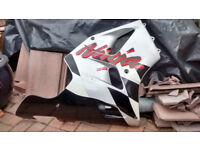 kawasaki ZX600F 1996 model side fairing