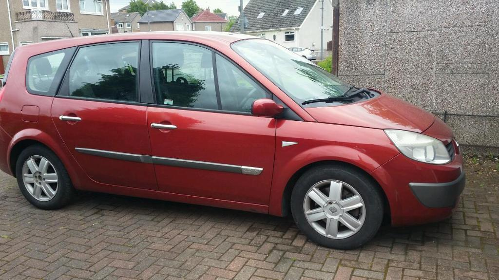 renault megane grand scenic 7 seater in east end glasgow gumtree. Black Bedroom Furniture Sets. Home Design Ideas