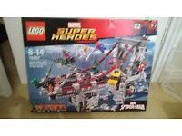 LEGO 76057 - WEB WARRIORS ULTIMATE BRIDGE BATTLE