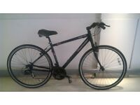 CLAUD BUTLER URBAN 100 21-SPEED HYBRID BIKE BICYCLE