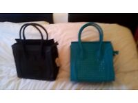 collection of nice new and used handbags
