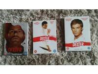 Dexter season 1 2 and 5 dvd