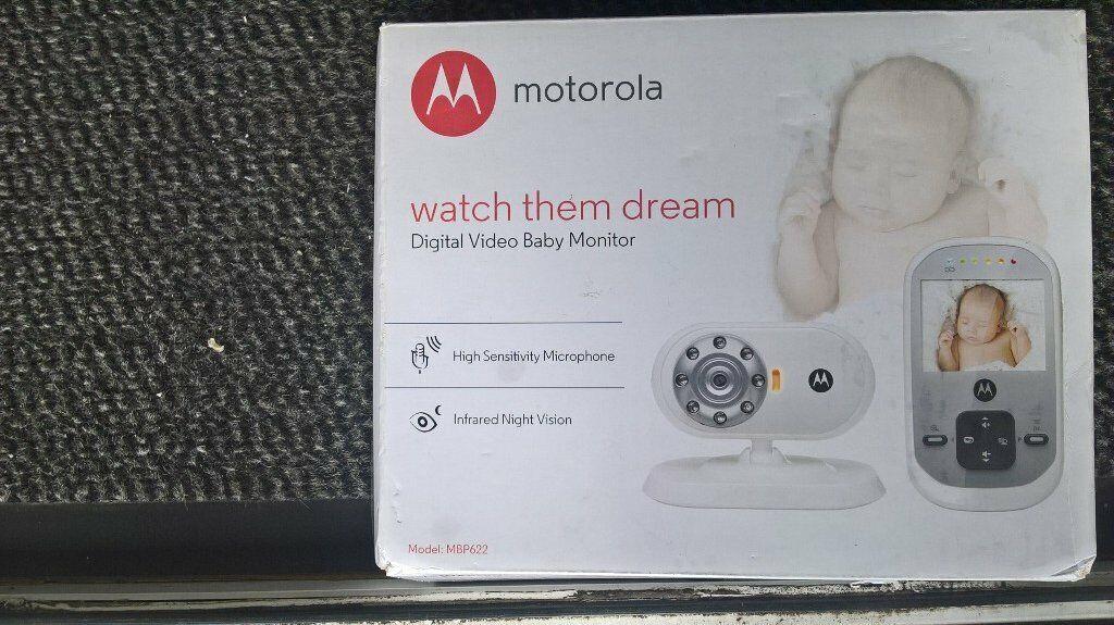 Digital Video Baby Monitor by MOTOROLA  Model number BP622 | in Swansea |  Gumtree