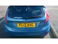 2012 Ford Fiesta Zetec with City Pack