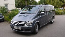 Mercedes Viano 8 seater, 3.0 V6, black leather interiour, cruise, electric side doors