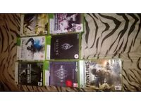 XBOX 360 12 GAMES INCULDING GAME OF THE YEAR EDITIONS