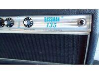Fender Bassman 135 Silverface Vintage Valve Amplifier - Guitar or Bass