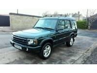 2004 LAND ROVER DISCOVERY II 2.5 TD5 LANDMARK FACELIFT 7 SEATER LONG MOT SERVICE HISTORY SUPERB 4X4