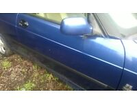 Saab 9-3 O/S Door In Blue- IN VERY GOOD USED CONDITION!