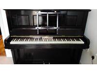 Witton & Witton Black Upright Piano for Immediate Sale City Centre