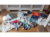 Huge collection baby boys clothes newborn 0-3 3-6 NEXT and more