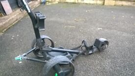 HILLBILLY ELECTRIC GOLF TROLLY(REDUCED PRICE)