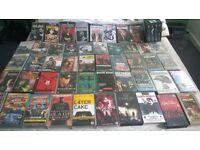 VHS videos - Job Lot 51 VHS Videos various films