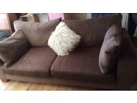 2 x 3 seater sofas from next