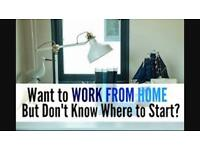 Want To Work From Home And Earn A Great Income, Please Get In Touch!