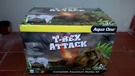 Aqua One Complete Aquarium Starter Kit - T-REX ATTACK