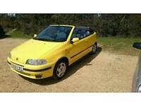 1999 Fiat Punto elx bertone convertible