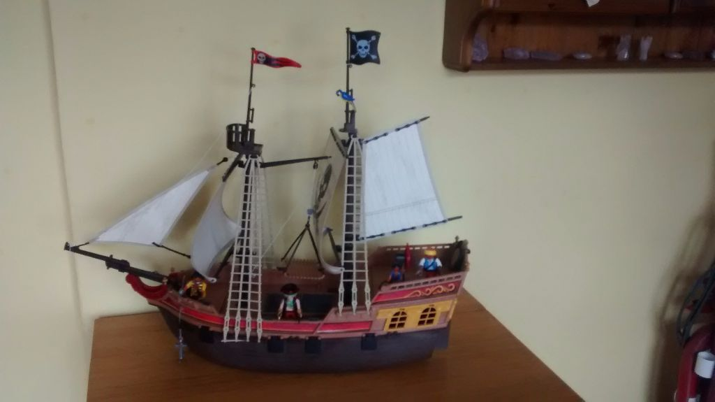 Playmobil 5135 large pirate ship | in Holywell, Flintshire ...