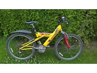 Mountain style bike for under 10 years female