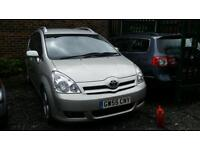 2005 Toyota corolla verso 2.2 d4d spares or repairs