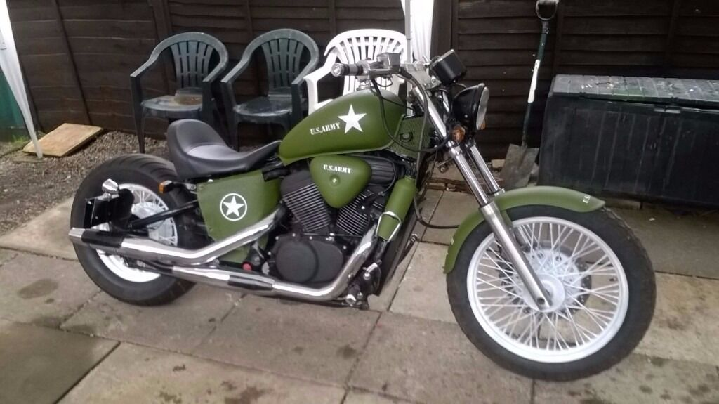 Honda vt 600 bobber custom one off in bracknell for Honda vt 600