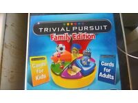 Trivial Pursuit Family Edition (Mint Condition) Fun for kids and adults onlly £4