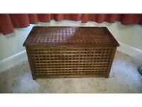 Wooden Storage Box - ideal for spare bedding or children's toys
