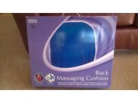 Back massaging cushion from Marks and Spencer
