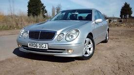 MERCEDES E280 CDI 3.0 AVANTGARDE AUTO (Silver) Beautiful drive clean car