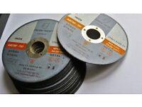 25 angle grinder discs 115 x 1 x 22 cutting discs inox ,steel , metal, cutting wheel, abrasive