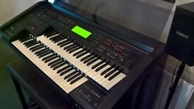 YAMAHA EL900 ELECTONE ORGAN includes Bench , Manual and a sellection of sounds on disc