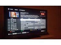 "Sony Bravia KDL40EX523BU 40"" Widescreen TV Full HD LED Edge Internet Freeview HD"