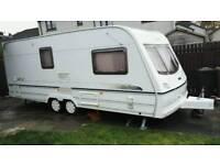 Lunnar Delta 520-2 Caravan, Ex Showroom Model 2002, Immaculate Condition