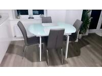 Dwell & NEXT - Dining Table & Chairs - Nearly New - RRP £1,200
