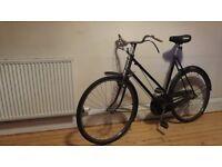 Vintage 1953 Raleigh Bicycle