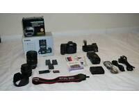 Canon EOS 50D 15.1 MP EF-S18-200mm lens, EF 50mm 1.4 USM lens plus extras
