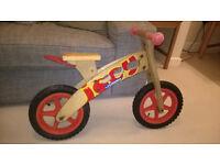 Hudora Wodden Joey Balance Bike
