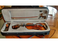 1930 Czech violin and case