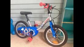 Decathlon kids 14 inch bike x2