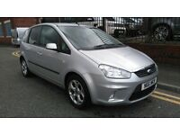 2007 Ford C-Max 1.8 16v Zetec 5dr MPV, 3 Months Warranty, 12 Months AA Breakdown, £2,395 p/x welcome