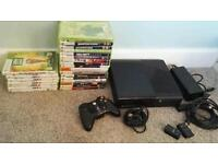 Xbox 360 with 24 games