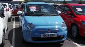 FIAT 500 HATCHBACK 1.2 Colour Therapy (blue) 2014