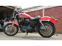 Harley Davidson 100 Anniversary Sportster pos p/ex classic car or bike maybe camper van or pickup