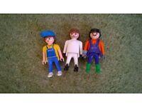Playmobil men x 3