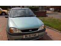 Ford Fiesta excellent condition. Good runner and excellent body work
