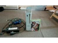 Microsoft Xbox 360 Pro 60 GB White Console With Street Fighter IV