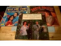 MUSICALS ON VINYL SOUTH PACIFIC, WEST SIDE STORY , MY FAIR LADY X 3