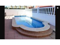 Holiday villa to rent in costa blanca spain.